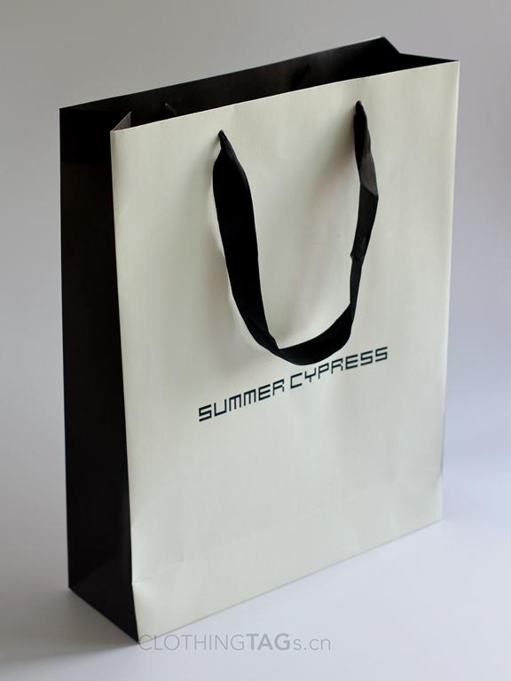 custom printed paper shopping bags 568