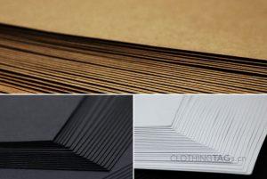 paper bags paper materials Kraft paper card paper (white card/black card)