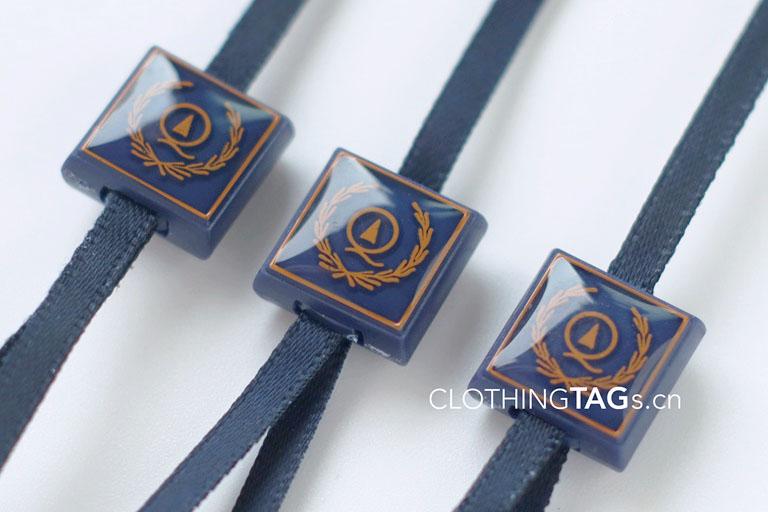 Epoxy hang tag string