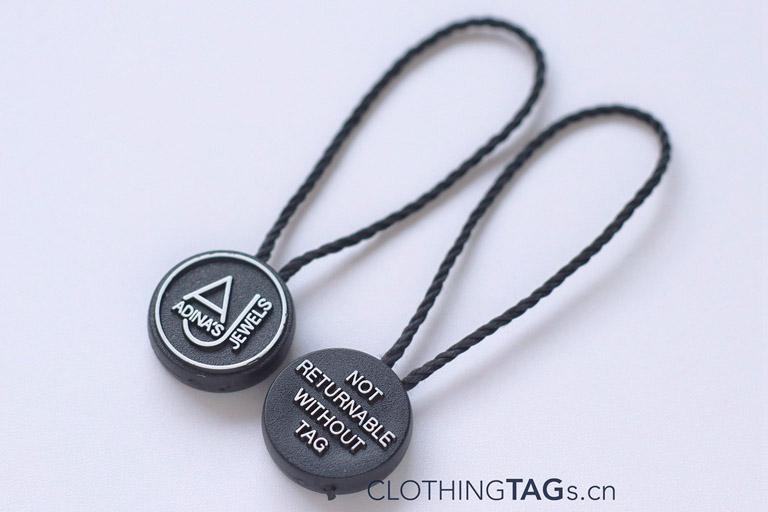 Polyester hang tag string