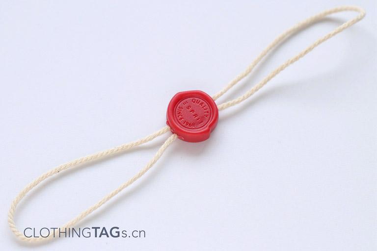 Cotton hang tag string