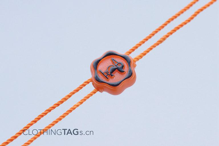 plastic hang tag string 0955