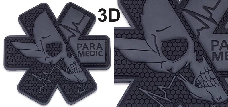3D PVC patches